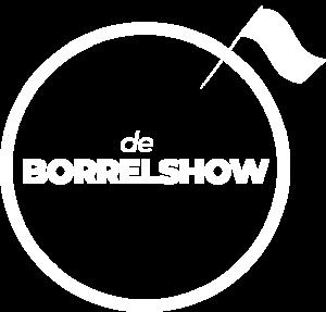 Borrelshow Logo White